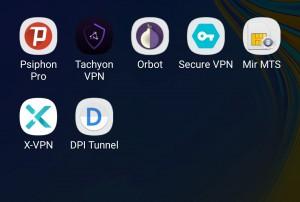 Рис 11. Подготовка смартфона под Андроид к работе в условиях тотальных блокировок.